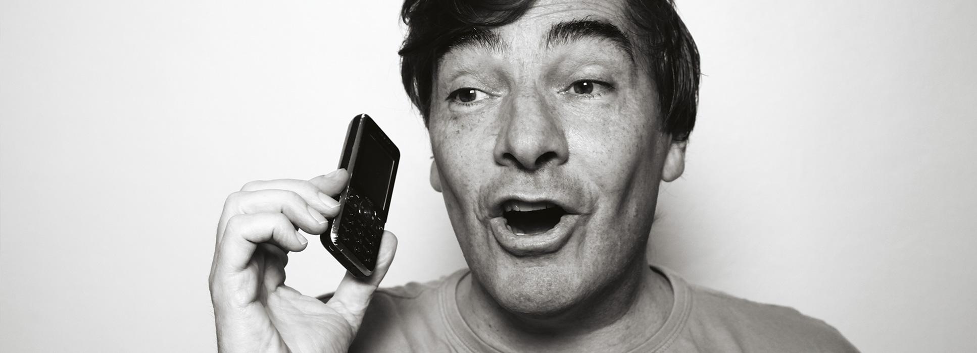Amis qu'au téléphone